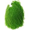 Seedbead Transparent Light Green 10/0 Strung